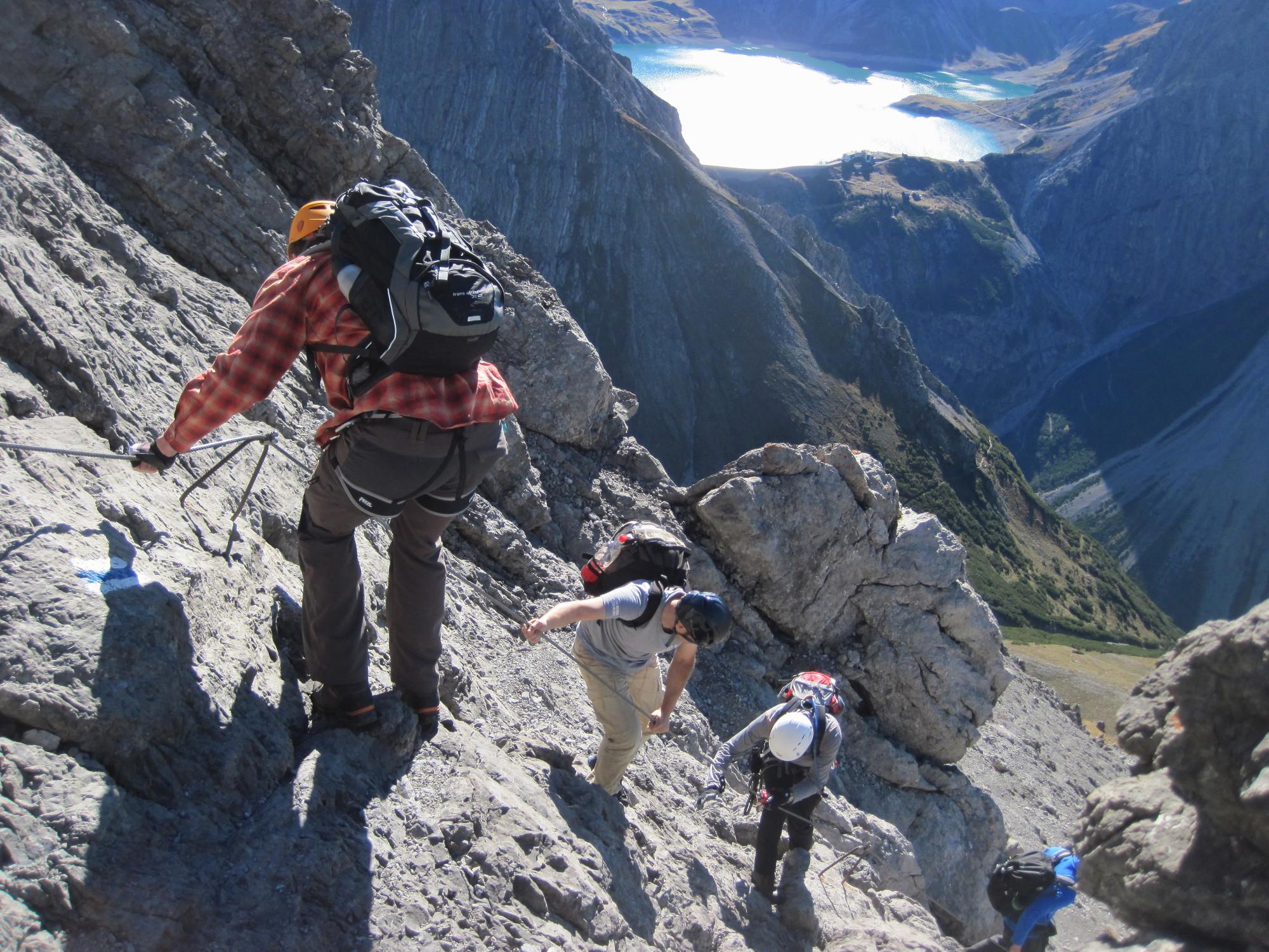 Saulakopf Klettersteig