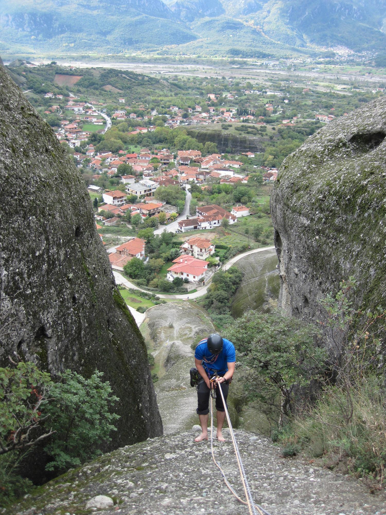 Gabi a Doupianifels-en ereszkedik