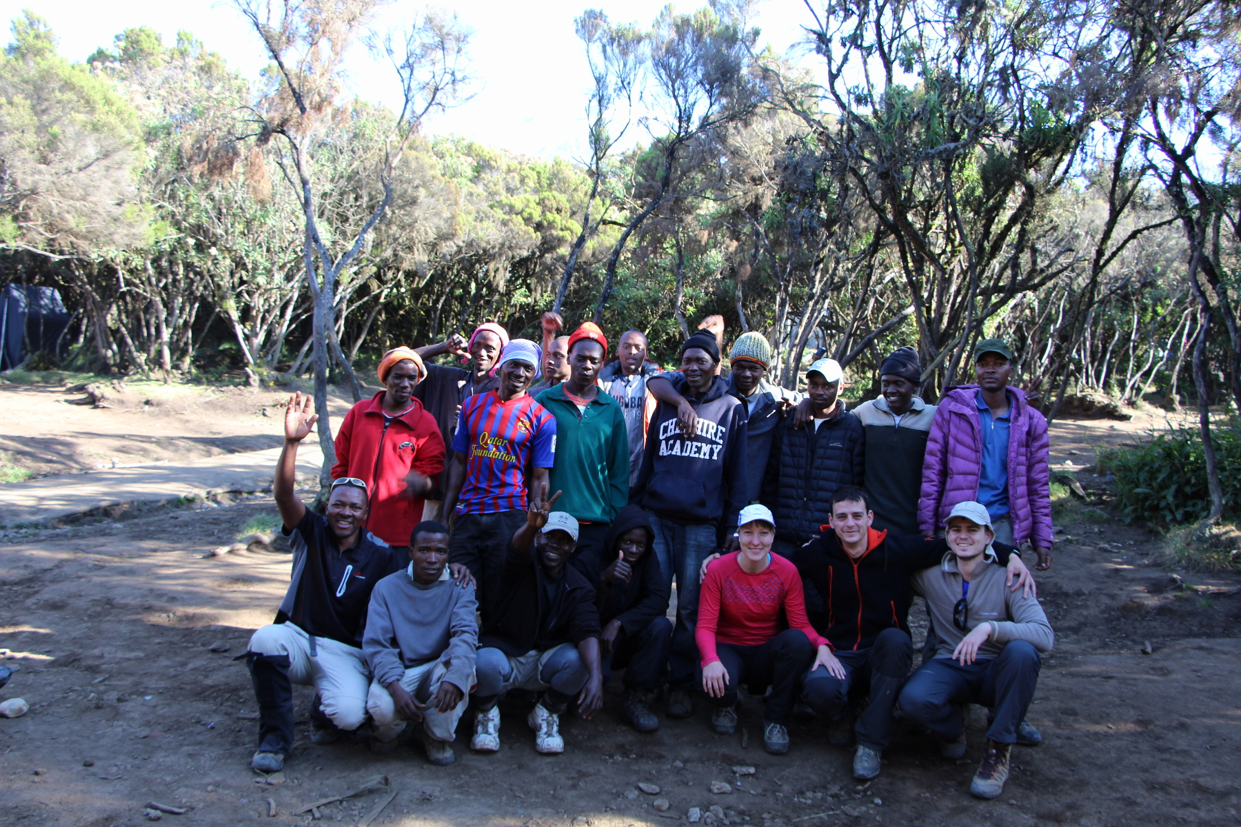 kilimanjaro team