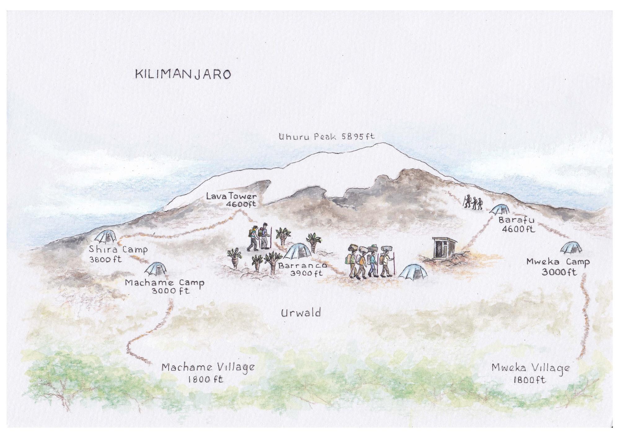 kilimanjaro_map