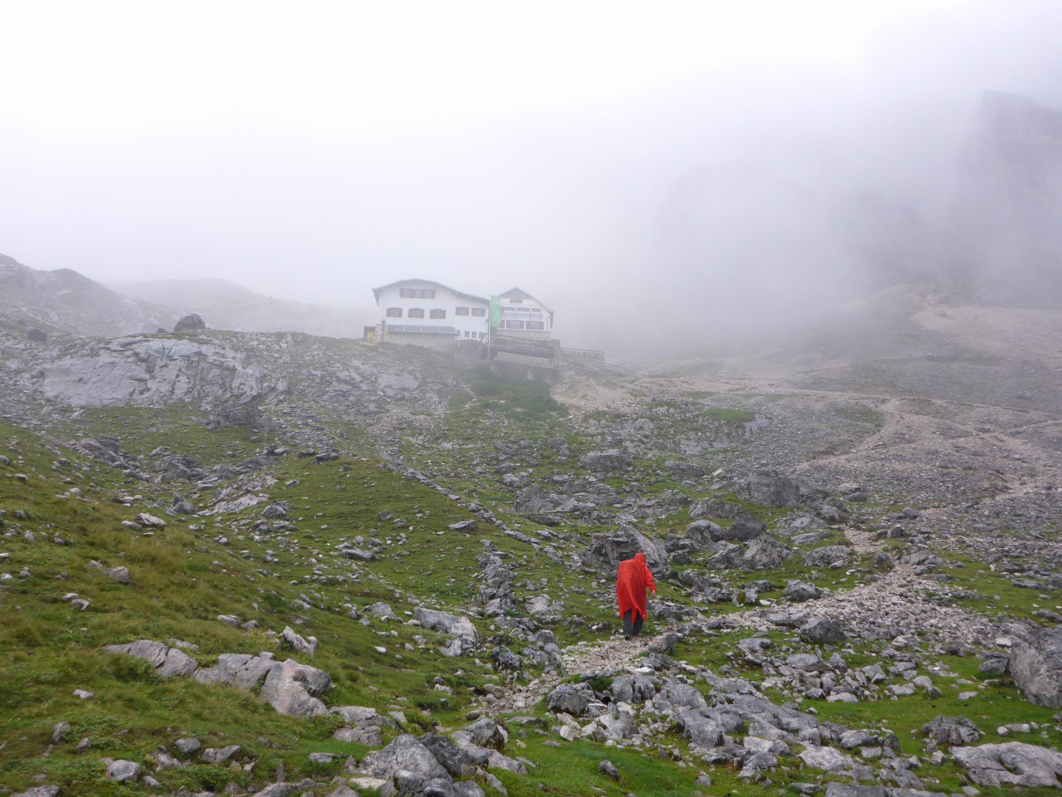 Knorrhütte Zugspitze