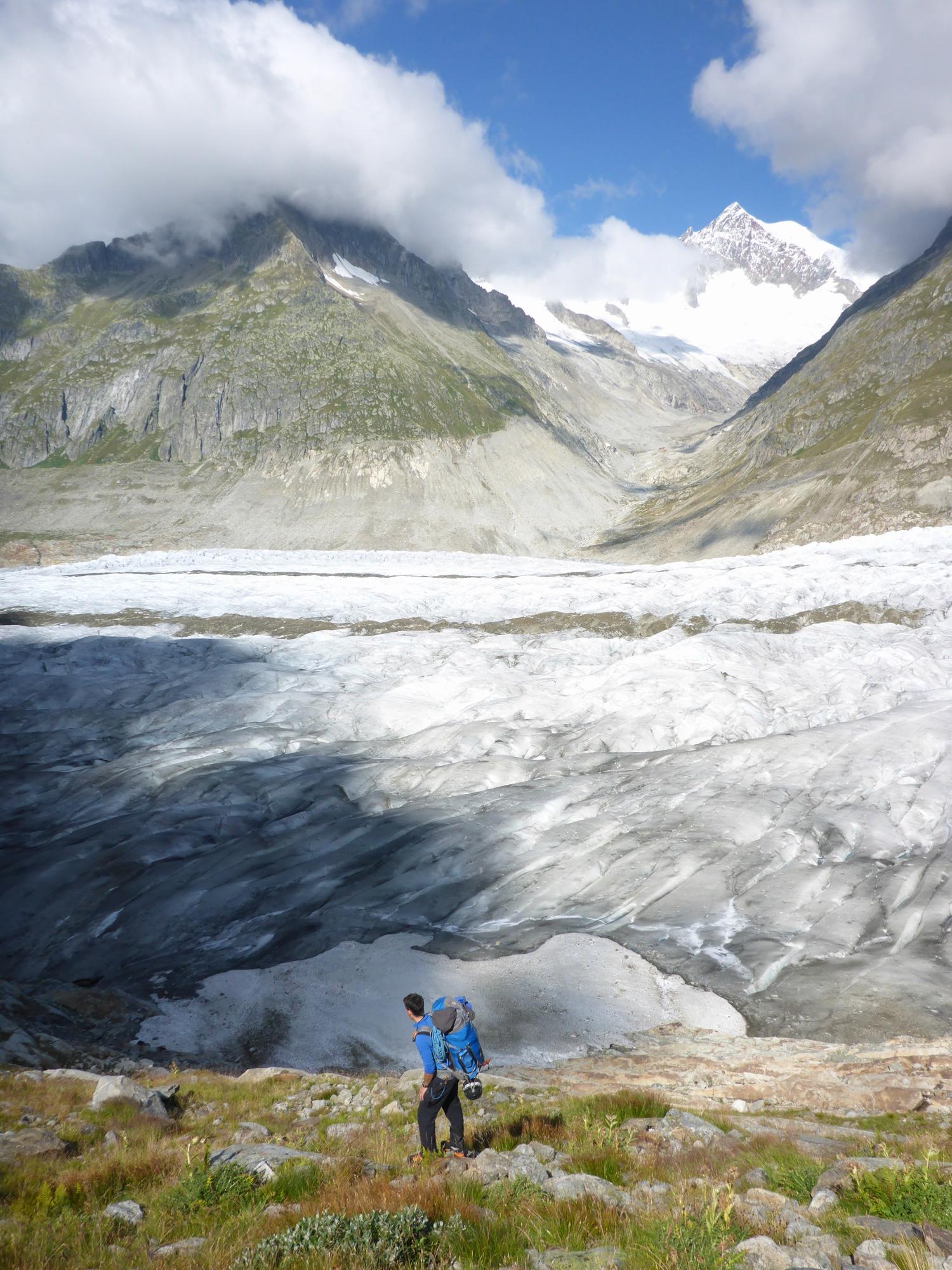 Aletschhorn aletschgletsche
